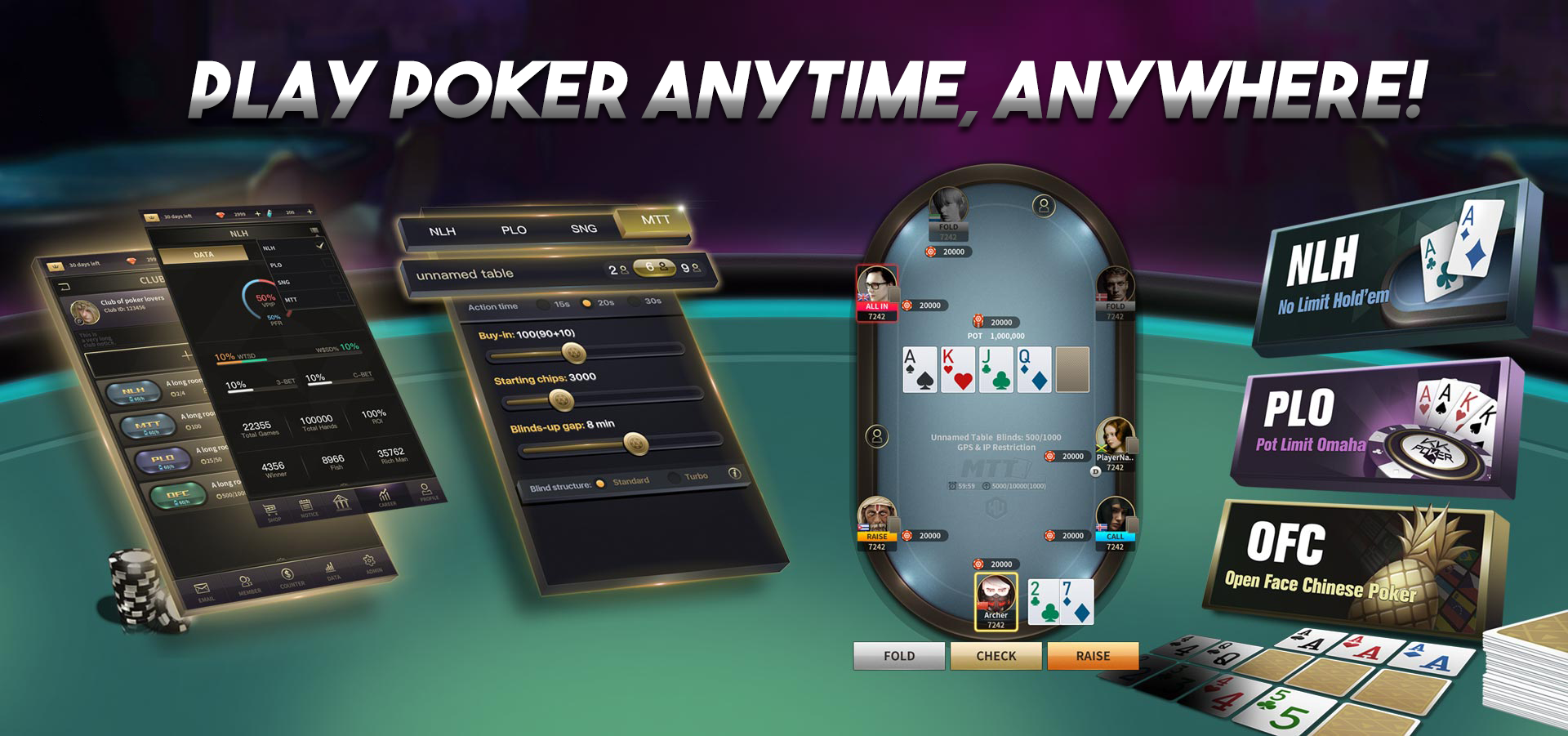 Poker for everyone